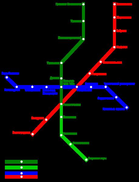 схема Екатеринбургского