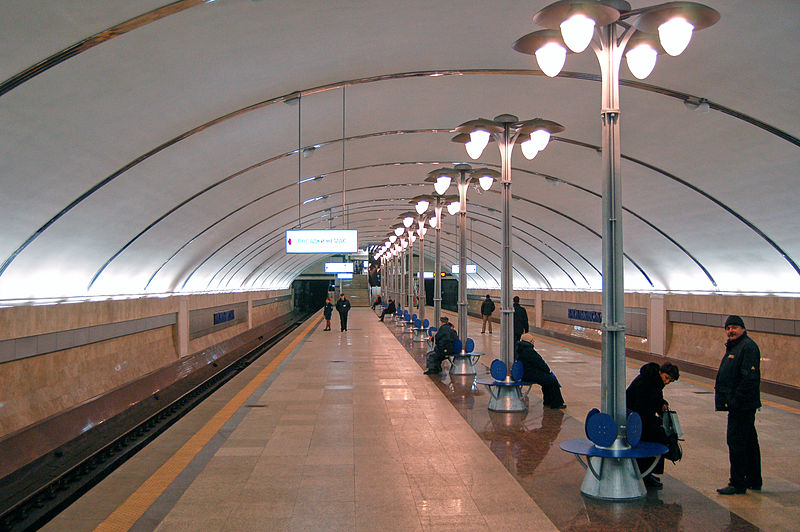 Проект участка линии метро в