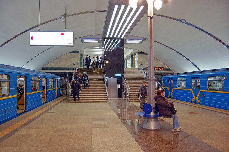 в казанском метрополитене.